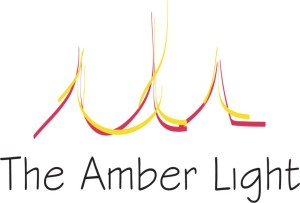 Amber light logo-home page background