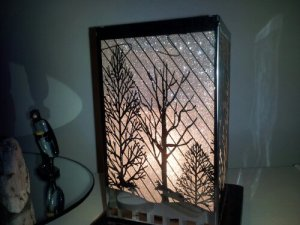 The Amber Light prize that will is our first giveaway prize and our most popular lamp this year.