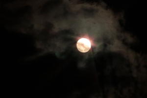 April 2013 Full Moon from Indiana. A beauty in the sky!