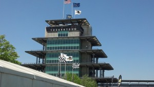 A picture perfect day at the Indy Motor Speedway