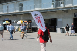 You can easily find help at Indianapolis Motor Speedway