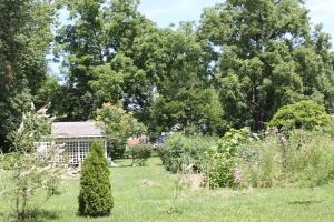 A pretty garden too!
