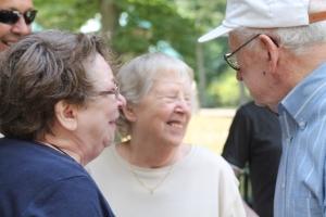 Carolyn, Sue and Bill