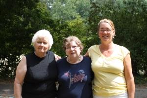 Roberta, Carolyn, Amber