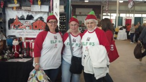 A group of festive ladies at the Gift and Hobby show last week. Everyone always has fun at this Indianapolis tradition.