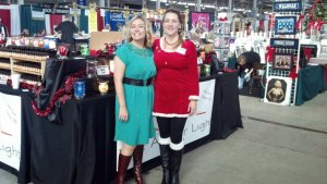 Jessica and I on SAturday 11-9-2013 Dressed and ready for a holiday sale that was the best day ever
