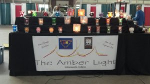 2013 The Amber Light lamp display