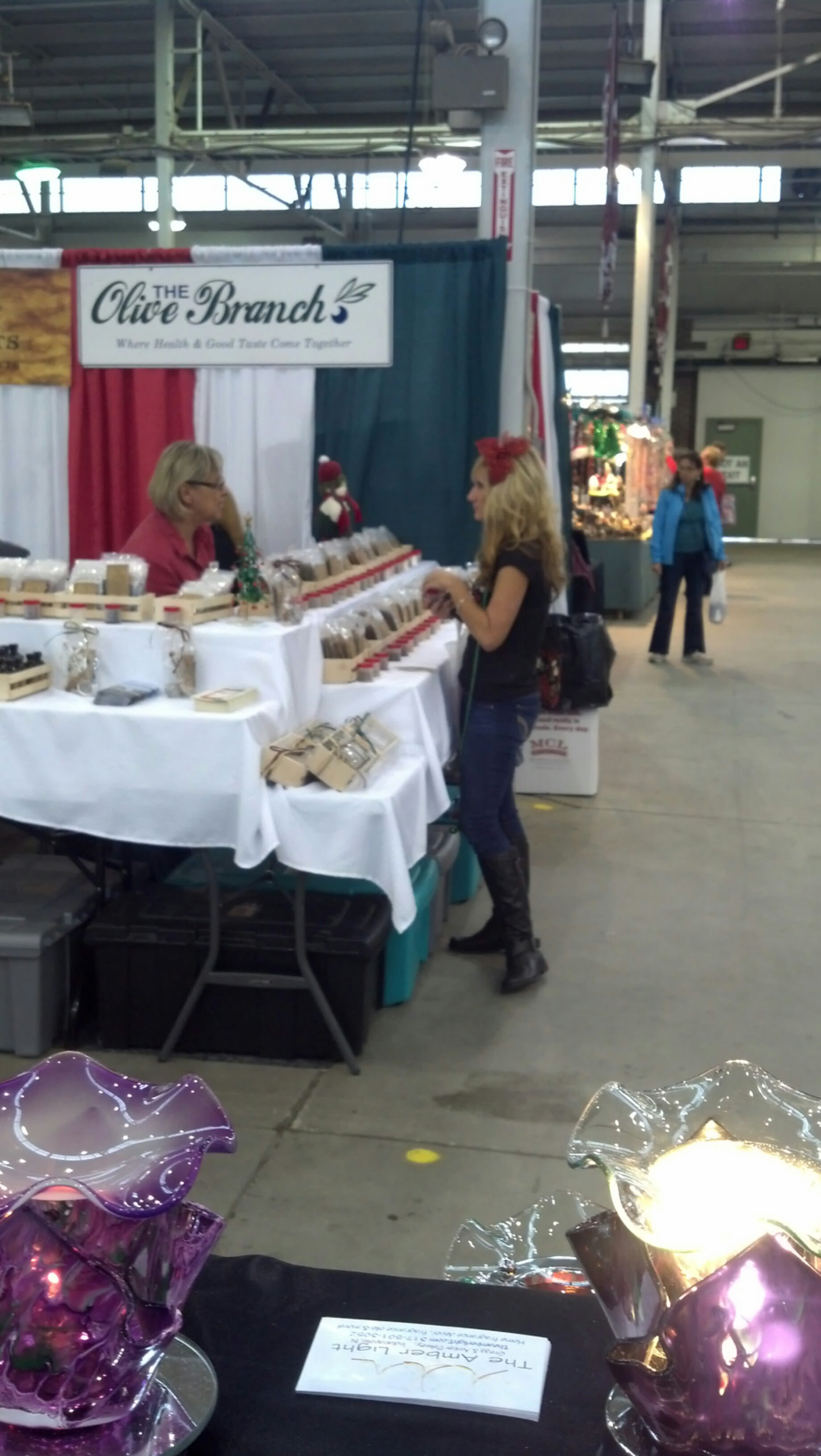 Christmas Gift and Hobby Show 2013-Day #1 Sights | The Amber Light\'s ...