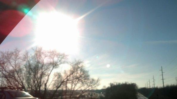 Imbolic sun February 3 2014 The cross quarter day at 15 degrees of Aquarius for the sun.