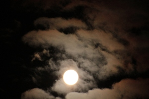 Full Snow Moon and Jupiter Dance February 4, 2015 | The Amber