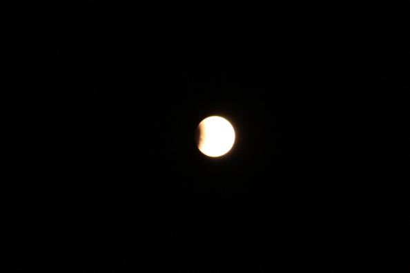 April 2015 lunar eclispe